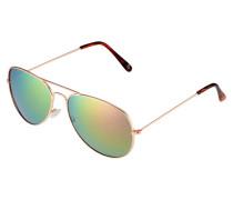 Sonnenbrille - pink/orange
