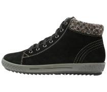 Sneaker high schwarz/terra