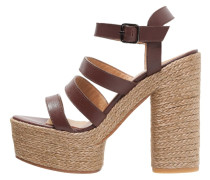 ADALIA High Heel Sandaletten marron