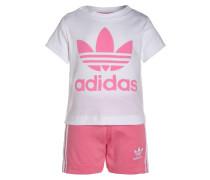 SET - Jogginghose - white/easy pink
