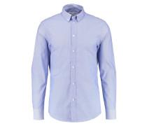 Hemd - white blue