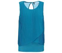 SOLEIL Bluse blue