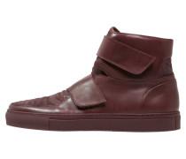 Sneaker high bordo