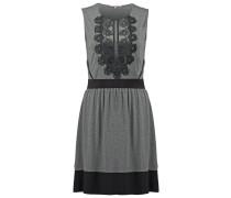 Jerseykleid dark grey melange