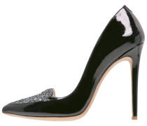 BERLIN High Heel Pumps schwarz/glitzer