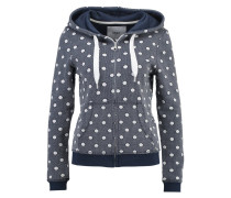 ONLPUNTO Sweatjacke total eclipse/cloud dancer