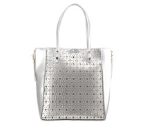 MACIE - Shopping Bag - silver