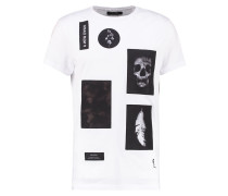 ASSAULT - T-Shirt print - white