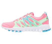 REALFLEX TRAIN 4.0 Trainings / Fitnessschuh peppy pink/green/blue