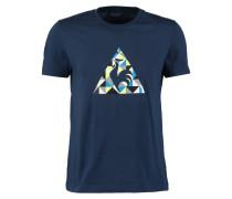 TShirt print dress blue