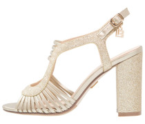 High Heel Sandaletten light gold