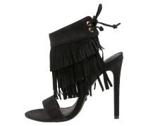 ROMANCE High Heel Sandaletten black