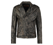 PERFECTO Lederjacke sheep cracker black