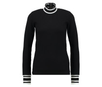POLARIS Strickpullover black