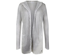 SPRAY Strickjacke silver