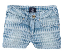 DENIA - Jeans Shorts - light indigo