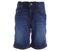 ANDERS - Jeans Shorts - aldrin wash