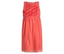 Cocktailkleid / festliches Kleid coral