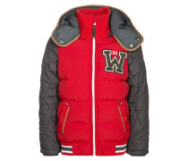 CLEMENTE Winterjacke red/grey