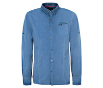 SLIM FIT Hemd blue