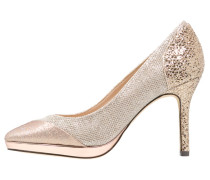 GUADALH High Heel Pumps stone