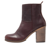MALLET Stiefelette dark brown/natural