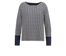 FARUS Sweatshirt royal navy blue