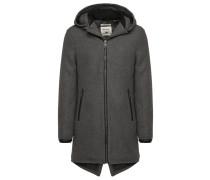 BARNEY Wollmantel / klassischer Mantel dark grey
