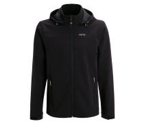 RAISO Softshelljacke black