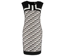 Jerseykleid taupe/black