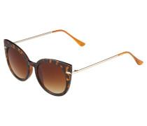Sonnenbrille - brown melange