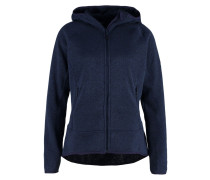 Fleecejacke evening blue marl