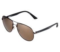 Sonnenbrille - ruthenium/grey bronze