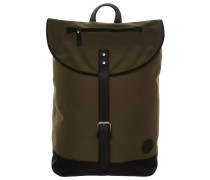 CITY HIKER Tagesrucksack army/black base