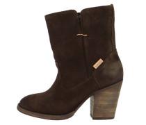 FOLSOM High Heel Stiefelette dark brown
