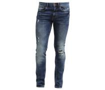 SKINNY RIP & REPAIR Jeans Slim Fit blue
