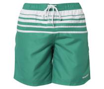KEES Badeshorts green/white
