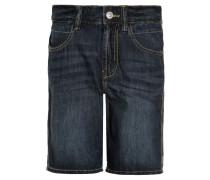 BERMUDA BASIC - Jeans Shorts - dark-blue denim