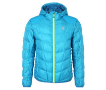 Winterjacke electric blue/concept blue/bryte yellow