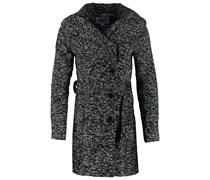 SOFIE Wollmantel / klassischer Mantel dark grey