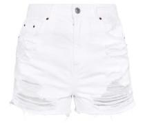 MOM - Jeans Shorts - white