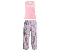 FLORAL - Pyjama - peach