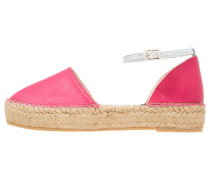 Espadrilles - matt red