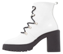 MOTOR High Heel Stiefelette white