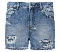 Jeans Shorts - dark denim