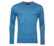 ORANGE LABEL - Strickpullover - storm blue grindle