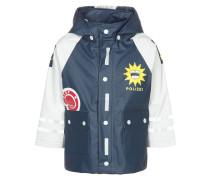 Regenjacke / wasserabweisende Jacke blau