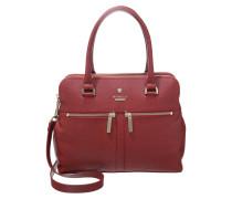 Handtasche cherry red