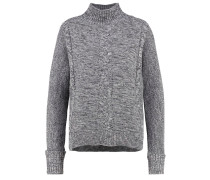 Strickpullover - charcoal grey