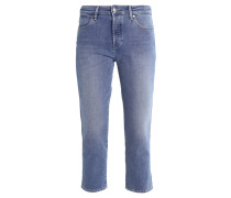 CROPPED STRAIGHT - Jeans Slim Fit - blue jean baby
